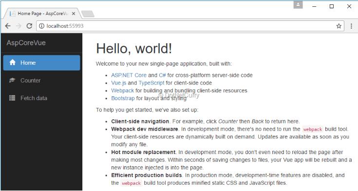 خطایابی ASP.NET Core در کد های ویژال استودیو
