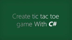 آموزش ساخت بازی دوز در c#