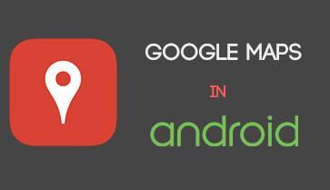 آموزش گوگل مپ در اندروید